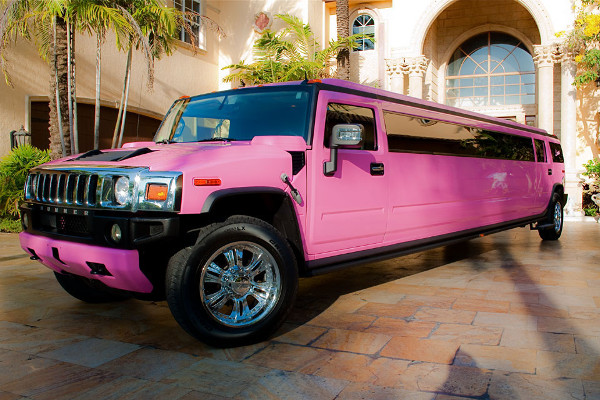 pink hummer limo service