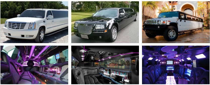 prom limousine rentals