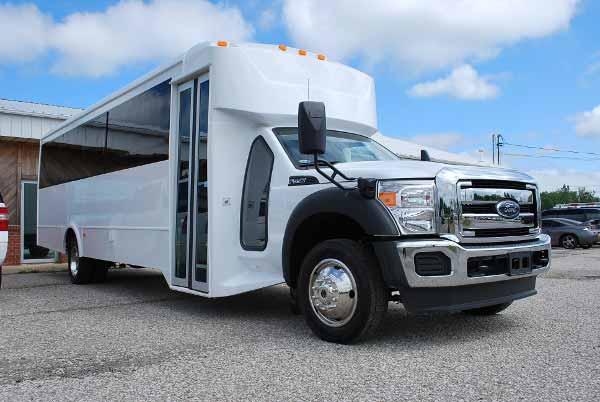 22 Passenger party bus rental New Port Richey