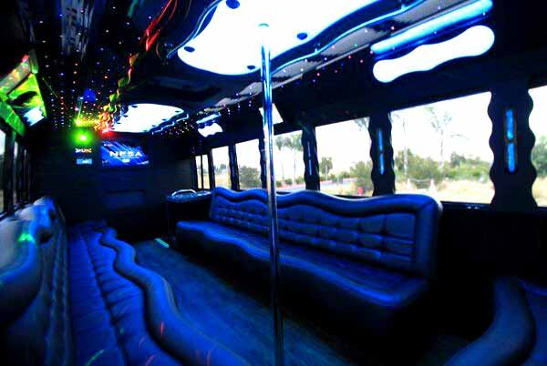 40 people party bus Sarasota