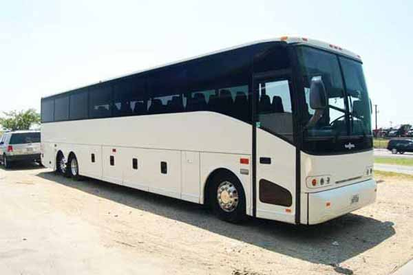 50 passenger charter bus Tampa Bay