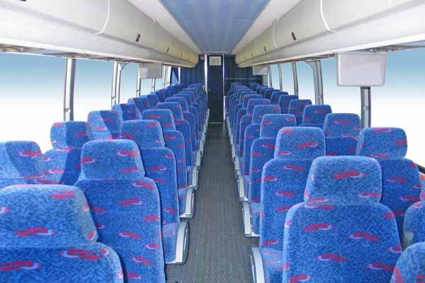 50 people charter bus Brandon