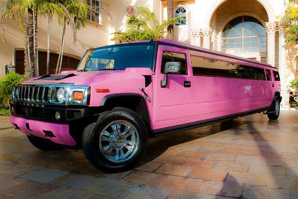 pink hummer limo Tarpon Springs