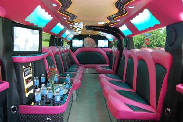 pink hummer limousine Brandon