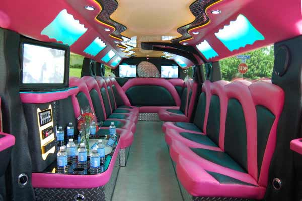 pink hummer limousine Clearwater